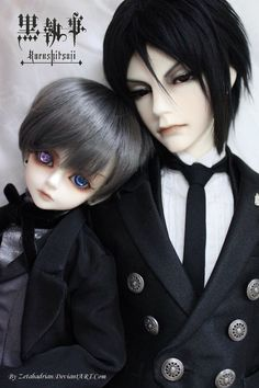 Ciel and Sebastian - a by Zetahadrian on @DeviantArt