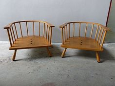 SUPERB PAIR OF T. H. ROBSJOHN GIBBINGS WIDDICOMB BARREL LOUNGE CHAIRS