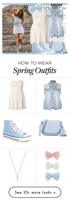 Idée et inspiration look d'été tendance 2017 Image Description « #93 Spring To Summer » by charlotte-sk on Polyvore featuring Rare London, Kate Spade, Converse, Gucci and Decree