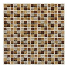 American Olean Delfino Glass Terra Blend Glass Mosaic Square Indoor/Outdoor Wall Tile (Common: x Actual: x Stone Mosaic, Stone Tiles, Mosaic Glass, Mosaic Backsplash, Kitchen Backsplash, Backsplash Ideas, Border Tiles, Outdoor Walls, Indoor Outdoor