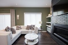 """Signature Homes - Home Builders """"Our Signature is our Guarantee."""" A home builder company in Winnipeg, Manitoba that is guaranteed to build your dream home. Living Area, Living Room, Willow Creek, Build Your Dream Home, Home Builders, Couch, Furniture, Home Decor, Settee"""