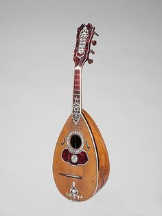 18th century Portuguese Mandolin at the Metropolitan Museum of Art, New York