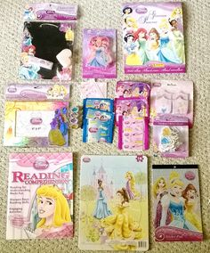 SOLD It's mostly GONE...   Don't #LetItGo !!!!!  Last few minutes for your chance at all these wonderful prizes!  Ends Saturday, Aug 23, 2014  5:51:54 PM GMT-0400   DISNEY PRINCESS HUGE LOT COLLECTION, hold on to your tiaras & crown your bids!