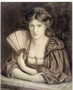 Marie Spartali Stillman, Self Portrait