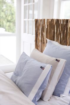 Lexington Chambray Bedding Spring14 #ourloveforchambray #lexingtoncompany #lexingtonclothing
