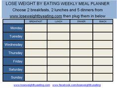 What does 1200 calories look like? -LOSE WEIGHT BY EATING MEAL PLAN- | Lose Weight by Eating!