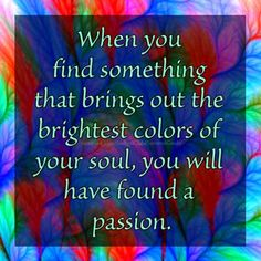 Here's something to #Paint about Bella's and Beau's!!! Have you found your #Passion yet??? A #Blessed and #Colourful midweek to you all, always ♥ Bella ♥