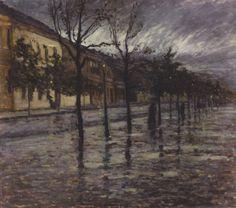 Otakar Nejedly - Rainy Mood, 1906