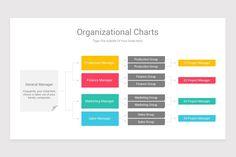Organizational Charts PowerPoint (PPT) Template Ppt Template, Templates, Initial Fonts, Organizational Chart, Project Management, Bar Chart, Finance, Marketing, Charts