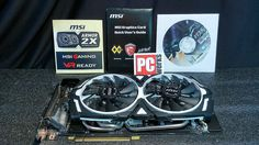 NEW MSI GTX 1080 ARMOR 8GB OC Graphics Card  NO SALES TAX  FedEx Shipping