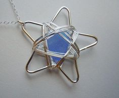 Wire Star Pendant