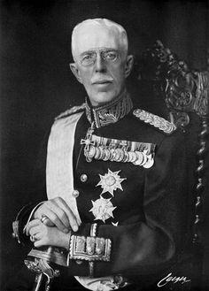 King Gustav V of Sweden.