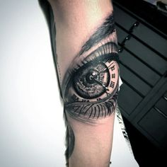 50 of the Coolest Looking Eye Tattoos for Guys #TattooIdeasForGuys