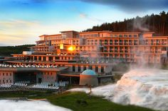 Saliris Resort Spa Hotel The Saliris Resort is situated in a large park in Egerszalók 6 km from Eger between the Mátra and Bükk mountain ranges. Hotels And Resorts, Best Hotels, Tour Tickets, Tour Operator, Hotel Spa, Resort Spa, Hot Springs, Outdoor Pool, Hungary