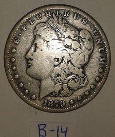 1879 Morgan Silver Dollar coin circulated by RolandDressler, $50.00