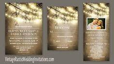 Billedresultat for tree branch wedding invitations