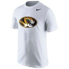 Men's Nike Missouri Tigers Logo Tee, Ovrfl Oth