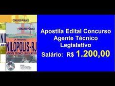 Apostila Edital Concurso Agente Técnico Legislativo | RJ |
