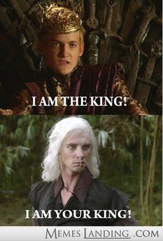 'Any man who must say 'I am the king' is no true king'