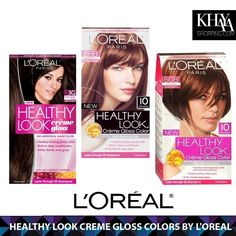 #HairColor by #L'Oreal Paris. A full range of permanent & semi-permanent color charts for blonde, brown & brunette, black & red haircolor.  only at www.khayashoping.com or come and get from our store in Westgate Mall, #Harare Zimbabwe