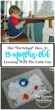 Check out what one creative mama and her little guy are up to at 19-months-old. Lots of ideas for awesome toddler activities.