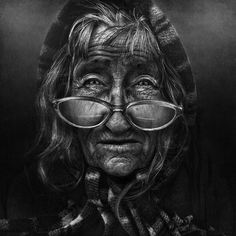 Black and White Portraits of Homeless People by Lee Jeffries... I wish they were less edited. Would be even more powerful.