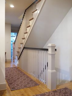 Basement Stairs Ideas Open Basement Stair Ideas Pictures Remodel And Decor Property Open Basement Stairs, Open Stairs, Attic Stairs, Basement Bedrooms, House Stairs, Attic Floor, Garage Attic, Attic House, Attic Ladder