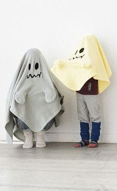 DIY Ghost Costume for Kids: