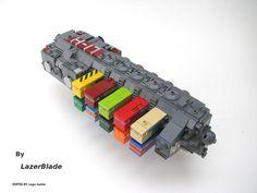 Opalite Class H-17 Cargo Freighter by Lazer Blade, via Flickr