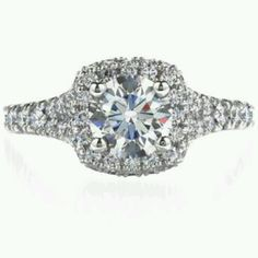 Hearts on Fire Acclaim engagement ring. LOVE LOVE LOVE!!!