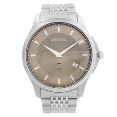 Gucci Watches - Shop designer fashion at Tradesy and save 70% off or more on fashion accessories. Gucci Watches For Men, Vintage Watches For Men, Gucci Accessories, Vintage Gucci, Stainless Steel Case, Timeless Fashion, Michael Kors Watch, Dress Formal, Quartz