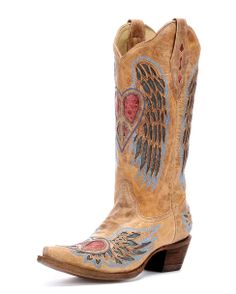 OK. These for sure! Corral Cowgirl Boots