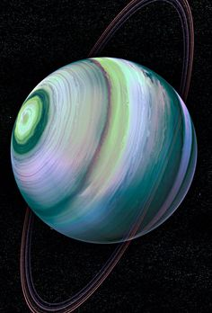 "Uranus a beautiful planet indeed--7th planet from the Sun. It has the third-largest planetary radius and fourth-largest planetary mass in the Solar System. Uranus is similar in composition to Neptune...both are different chemical composition than the larger gas giants Jupiter and Saturn. For this reason, astronomers sometimes place them in a separate category called ""ice giants""..."