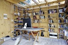 I'm thinking this could really work for me.     eclectic garage and shed by Office Sian Architecture & Design