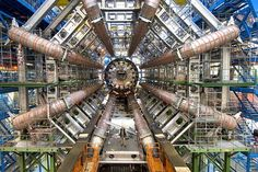 Higgs Boson Images of the incredible Large Hadron Collider the world's largest and highest energy particle accelerator. This billion euro machine has revealed the Higgs Boson, the elementary subatomic particle. Stephen Hawking, Particle Collider, Cern Collider, Elementary Particle, Particle Accelerator, Large Hadron Collider, Higgs Boson, String Theory, Big Bang