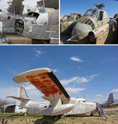 desert aircraft boneyard Abandoned Aircraft, Airfields, Airbases and Airport Terminals