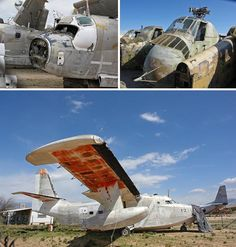 desert aircraft boneyard Abandoned Aircraft, Airfields, Airbases and Airport Terminals