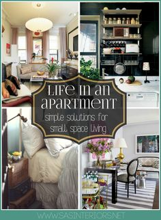 Life in an Apartment: simple solutions for small space living
