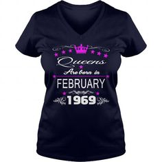 queens 1969 February  , tshirts 1969 February,  queens  tshirt,Hoodie ,VNeck Shirt  ,Shirt for womens and Men ,birthday  1969 February, queens love LIMITED TIME ONLY. ORDER NOW if you like, Item Not Sold Anywhere Else. Amazing for you or gift for your family members and your friends. Thank you! #queens #february