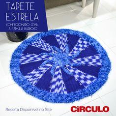 Tapete Estrela usufruindo do belo efeito visual do Barroco Multicolor. Confira a receita clicando na imagem.