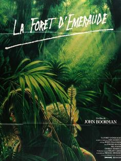 The Emerald Forest (1985) Original French Grande Movie Poster