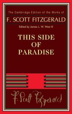 Cover art for This Side of Paradise
