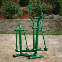 A sturdy exercise device designed to provide joint-friendly cardiovascular workout