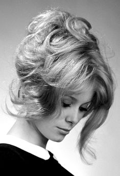 "goldenageestate: "" Catherine Deneuve photographed by Walter Carone, 1963. """