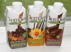 Kate Farms Komplete Ultimate Meal Replacement Shakes