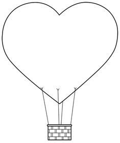 I've called todays digital stamp 'heart air balloon', yep it's probably not that funny but I chuckled to myself. Air Ballon, Hot Air Balloon, Hand Print Flowers, Balloon Template, Birthday Party Games For Kids, Balloon Crafts, Scroll Saw Patterns, Baby Shower Balloons, Craft Activities For Kids