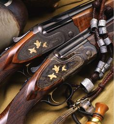 Caeser Guerini Magnus, an intricately crafted Italian under & over shotgun. Turkish walnut stock, with Prince-of-Wales style grip.