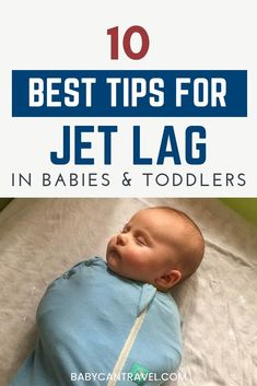 Don't let jet lag scare you off from traveling with babies and toddlers. In this ultimate guide to jet lag, we share our experience, our best tips for dealing with jet lag and expert advice from baby sleep experts. #jetlaginbabies #babyjetlag #toddlerjetlag #babytravel #toddlertravel #jetlag Travel Tips With Toddlers, Toddler Travel, Travel With Kids, Family Travel, Baby Travel, Traveling With Baby, Traveling By Yourself, Baby Jet Lag, Flying With A Baby