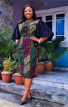 Best African Dresses, Latest African Fashion Dresses, African Print Fashion, Africa Fashion, African Attire, Ankara Gown Styles, Ankara Gowns, White Lace Dress Short, African Fashion Traditional