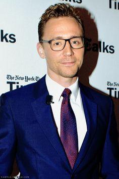 Tom Hiddleston attending the Times Talks 'Crimson Peak' event, NYC, 10/13/15. Edit by Larygo, Tumblr